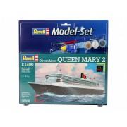 Revell Model Set Ocean Liner Queen Mary 2 hajó makett revell 65808