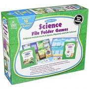 Science File Folder Games Grades K - 1 Educational Board Game