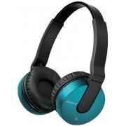 Casti Stereo Sony MDR-ZX550BNL, Bluetooth (Albastru)