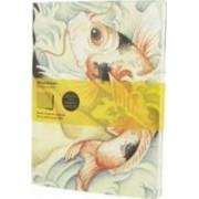Moleskine Cover Art Carp Fish Squared Journal by Moleskine