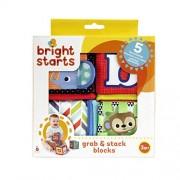 Bright Starts Grab & Stack Blocks