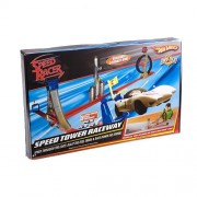Speed Racer Hot Wheels Trick Tracks Speed Tower Raceway Track Set