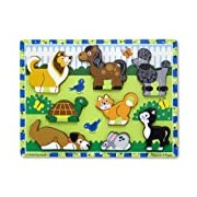 Pets Chunky Puzzle: Puzzles (Wooden) - Chunky Puzzles