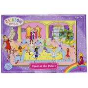 Toys&Games Rainbow Magic Glitter Puzzles - Feast At The Palace