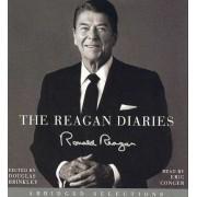 The Reagan Diaries Abridged Selections 3/180 by Ronald Reagan