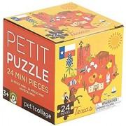 Petit Collage Petit Puzzle Texas State 24 Pieces