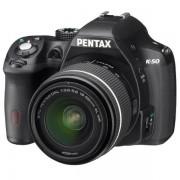PENTAX K50 Reflex Noir + DAL 18-55WR