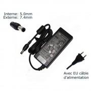 AC Adaptateur secteur pour HP G6 G6-1026EG G6-1105SG G6-1110SG G6-1201SG G6-1222SG G6-1201 G6-1240SG chargeur ordinateur portable, adaptateur