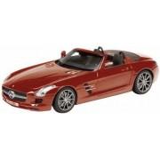 Mercedes Benz SLS AMG A197, rood
