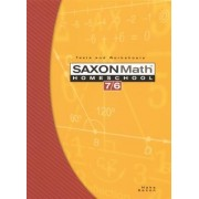 Saxon Math Homeschool 7/6 by Stephen Hake