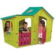 Magic Villa House gyerek játszóház zöld-kék KETER