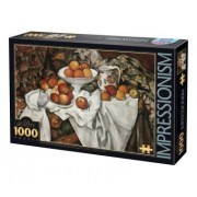 D-Toys - Impressionism Jigsaw Puzzle 1000 Pezzi - Cezanne: Still Life With Apples & Or