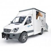 Bruder Animal Transport Van Mercedes-Benz 1:16 02533