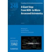 A Giant Step - from Milli- to Micro-Arcsecond Astrometry (IAU S248) by Wenjing Jin