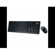 GENIUS Komplet tastatura i miš SlimStar C130 US (Crna)