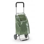 Gimi Flexi összecsukható húzós bevásárlókocsi zöld - 145036