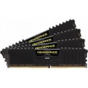 Kit Memorie Corsair Vengeance LPX Black 4x4GB DDR4 3600MHz CL18 Quad Channel