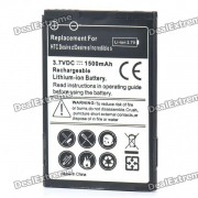 Remplacement 3.7V 1500mAh Batterie pour HTC Desire S/G12/Incredible S/G11