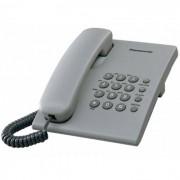 Telefon Analogic cu Fir Panasonic KX-TS500FXH Gri