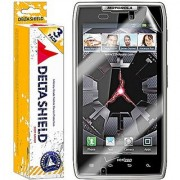 h i DeltaShield BodyArmor - Motorola Droid Razr Screen Protector - Premium HD Ultra-Clear Cover Shield with Lifetime War
