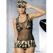 Costume militare soldatessa Soldier Dress