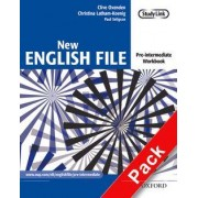 New English File: Pre-Intermediate: Workbook with Multirom Pack: Workbook with Multirom Pack Pre-intermediate level by Clive Oxenden