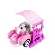 Zhu Zhu Pets Puppies sonriente coche con puerto