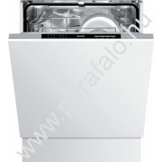 GORENJE GV 61215 Teljesen beépíthetõ mosogatógép