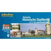 Fietsgids Bikeline Radrouten Historische Stadtkerne im Land Brandenburg | Esterbauer