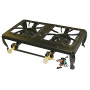 Totai Cast Iron 2 Burner Boiling Table