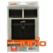 Jupio acumulator suplinitor (Canon LP-E6) și USB Dual Charger Kit