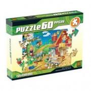 Grow Puzzle 60 peças Fazendinha