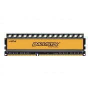 Ballistix Tactical - DDR3 - 4 Go - DIMM 240 broches - 1600 MHz / PC3-12800 - CL8 - 1.5 V - mémoire sans tampon - non ECC