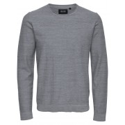 ONLY & SONS Solid Long Sleeved Top Man Grå