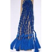 Royal Blue CRAFTS Cardmaking Bookmark TASSELS Pack of 10