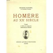 Homere Au Xxe Siecle. Croquis Et Lettres De Voyage De Berthold-Mahn.