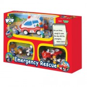 WOW Toys - Emergency Rescue, coche de juguete (80026)