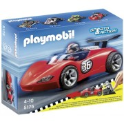 Playmobil 5175 Sports Racer with Roll Back Move Forward Action