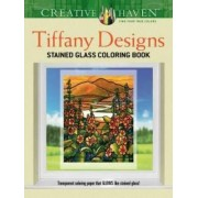 Creative Haven Tiffany Designs Stained Glass Coloring Book by Albert G. Smith