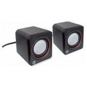 Sistem audio 2.0 Manhattan 6W Black