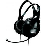 Casti Stereo cu microfon Philips SHM1900, Microfon (Negru)