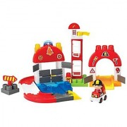 Winfun I-Builder Fire Station Set (65 Piece)