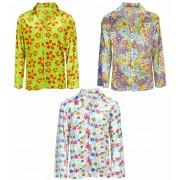 Camiseta Flores Hippie Unisex .