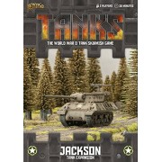 Gale Force Nine Tanks Us Jackson (M10/M36) Tank Expansion Board Game (8 Players)