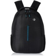 HP 15 inch Laptop Backpack(Black, Blue)