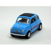 Kinsmart 01:24 Fiat caja azul ventana de luz 500 200-520