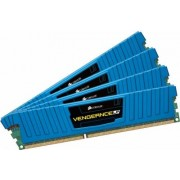 Corsair 32 GB DDR3-RAM - 1600MHz - (CML32GX3M4A1600C10B) Corsair Vengeance LP Blue CL10