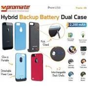 Promate Twix.i5-Hybrid Backup battery Dual case