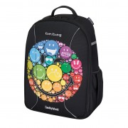 Rucsac Be.Bag ergonomic dimensiune 34x39x19 cm, motiv Airgo SmileyWorld Rainbow