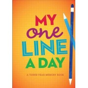 My One Line a Day by Chronicle Books